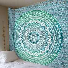 India Mandala Tapijt Muur Opknoping Boho Decor Wandtapijten Strandlaken Sjaals Psychedelische Mandala Muur Tapijt Home Decor