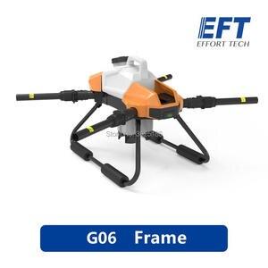 Image 1 - 2020 EFT G06 Agricultural Spray Drone Frame DIYFour axis 6L 6KG 1170mm Wheelbase Foldable Drone Frame UAV