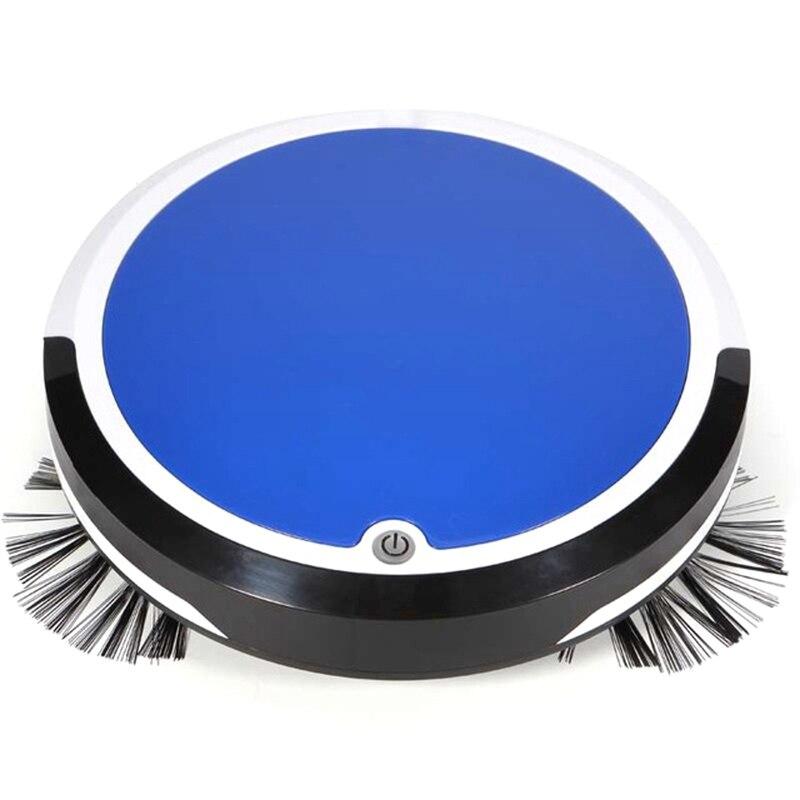 Accueil 4 en 1 Robot de nettoyage automatique Rechargeable Robot de balayage intelligent saleté poussière cheveux nettoyeur automatique pour aspirateurs électriques-