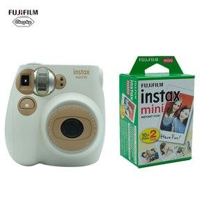 Fujifilm Fuji Instax Mini7C Instant Film Photo Camera + 20 50 Sheets Fujifilm Instax Mini 8/9/7C Film Camera Fujifilm Instant