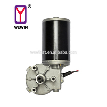цена на Permanent Magnet DC Motor 12v 24v 36v Worm Gear DC Electric Motor