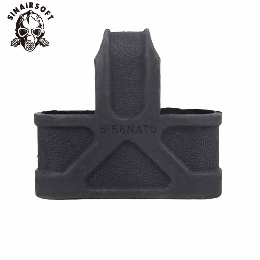 Sinairsoft 5.56 Navo Cage Fast Mag Rubber Loops Tijdschrift Riem Houder Voor Airsoft M4/16 Jacht Accessoires