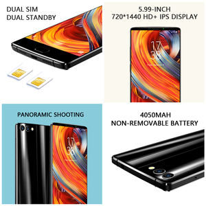 """Image 3 - Global version HOMTOM S9 Plus 18:9 HD+ 5.99"""" Tri bezelless Full Display Cell phone MTK6750T Octa Core 4G+64GB 4G LTE Smartphone"""