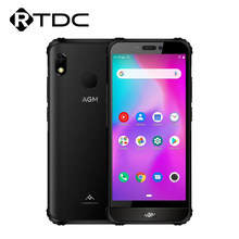 AGM-teléfono móvil inteligente A10, pantalla HD de 5,7 pulgadas, resistente al agua IP68, 3/4/6GB, 32/64/128GB, batería de 4400mAh, 4G, LTE, Android 9, NFC
