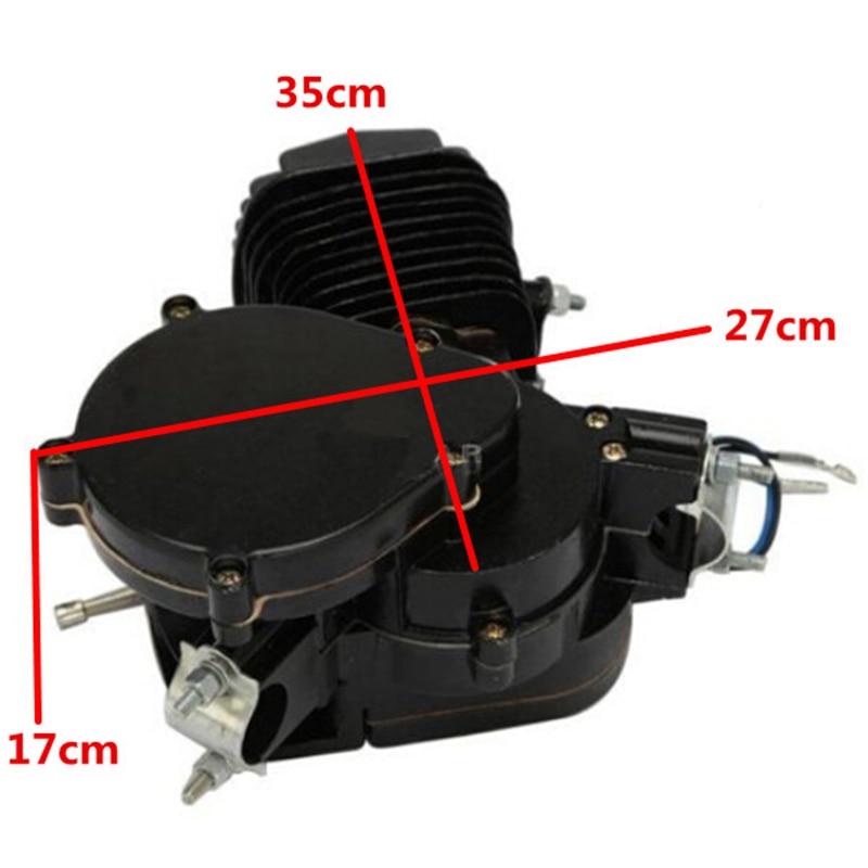 80cc 2-Stroke Benzin Gas Motor Motor Kit DIY Motorisierte Fahrrad Motor Motor Teile 2019 Neue