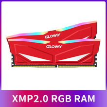 Nieuwe collectie Gloway RAM RGB DDR4 8GBX2 16GB 3200MHz RAM DIMM 288-pin Desktop
