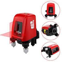 FC435 Laser Level 2 Rot Kreuz Linie 360 Grad Rotary Selbst nivellierung laser ebene zu freizeit Diagnose werkzeuge Laser ebenen Meter