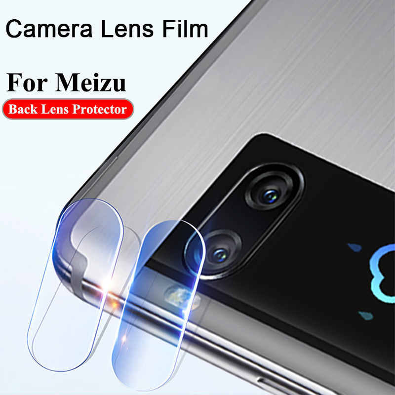 Protective Phone Camera Tempered Film For Meizu 15 Lite 16 Plus 16X Screen Protector Toughed Len Glass For Meizu Note 9 8 X8