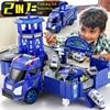 Politie Parkeerplaats Garage Speelgoed Techniek Brandbestrijding Legering Miniatuur Ras Auto Vrachtwagen Kraan Diecast Model Speelgoed Voor Kinderen