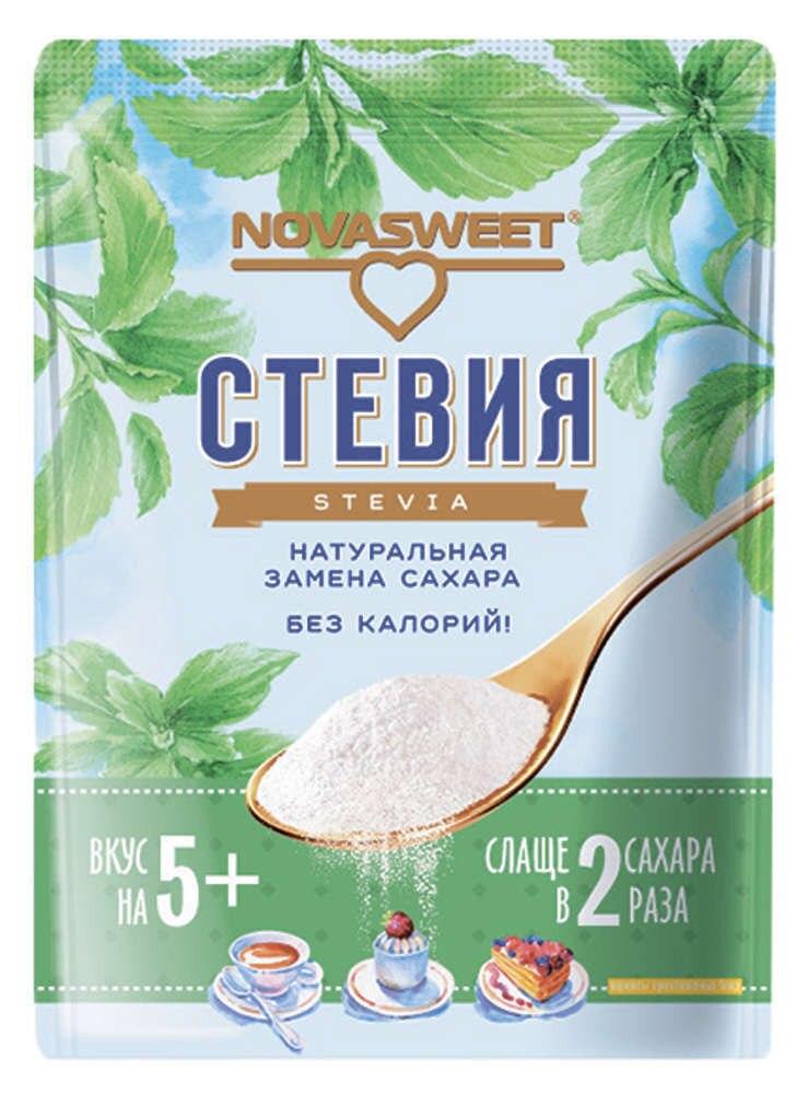 Подсластитель Novasweet стевия, 200 г