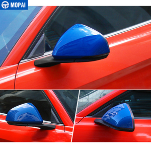 Image 5 - MOPAI Mirror Covers for Car Exterior Side Rearview Mirror Decoration Cover ABS Stickers for Ford Mustang 2015 Up