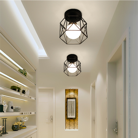 iluminacao sala estar gaiola do vintage lampada