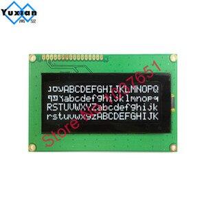 Image 4 - 20x4 2004 oled display Russian European English Japanese font SPI IIC I2C 98*60mm  module 3.3v 5v yellow  white  16pin LEC2041