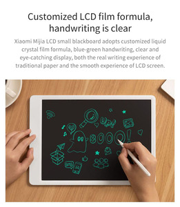 Image 3 - Xiaomi Mijia 液晶小黒板磁気スタイラスペン 10 インチ 13.5 インチ子供ミニ描画パッド滑らか在宅ワーク