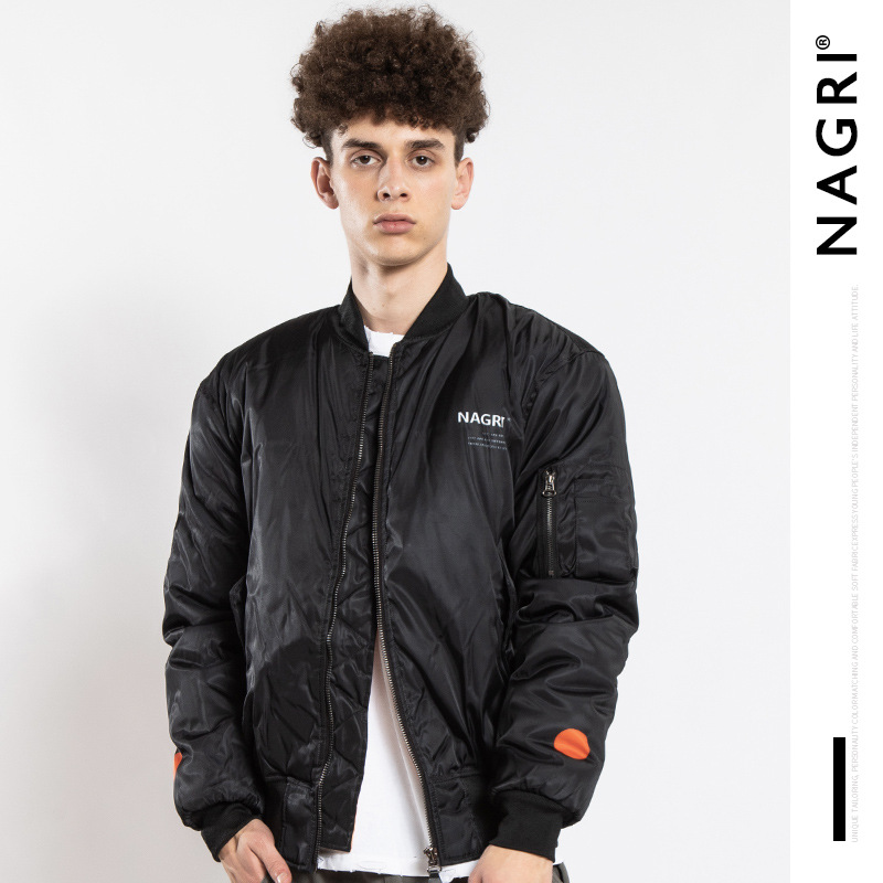Nagri Europe And America Popular Brand Men'S Wear Jacket Figure Oil Painting Printed Jacket Men And Women Cotton-padded Clothes