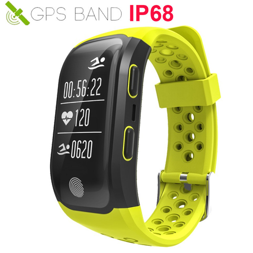 HOT Run/Cycle GPS Smart Watch IP68 Swim Reloj Heart Rate Smartwatch GPS Fit For Apple/Xiaomi/Huawei VS IWO 8/9 Fit Bit Not image