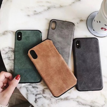 Cowhide soft case for iphone 12 mini 11 pro x xs max xr 8 7 6 6S plus SE 2020 Luxury leather phone cover Business coque fundas image