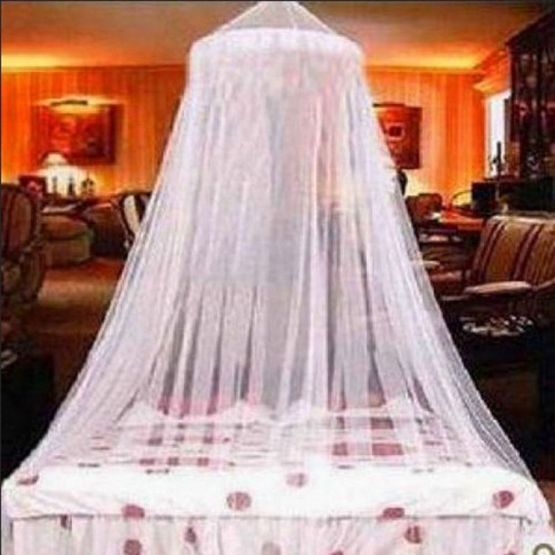 Round Hanging Dome Mosquito Net Insect Mosquito Protective Net Mesh Home Bed Crib Tent Hung Dome Romantic