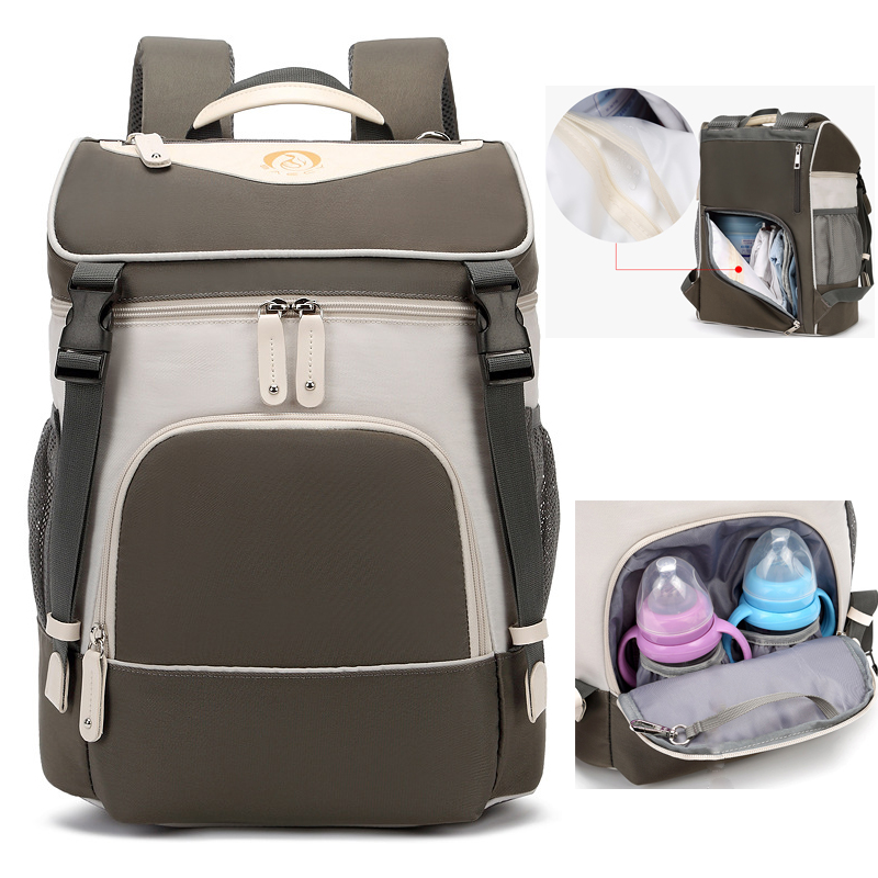2020 Waterproof Diaper Bag For Mom Maternity Fashion Nappy Backpack Stroller Baby Infant Organizer Nursing Changing Bag To Care