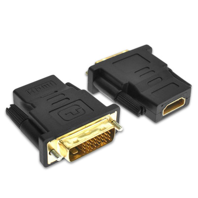 DVI Adapter M-F 24+5pin Male to HDMI Female Adapter Converter For HDTV LCD