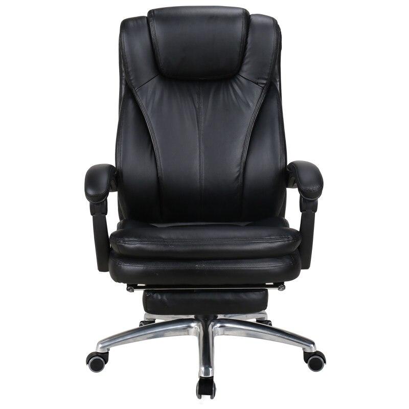 Genuine Leather Cadeira Office Chair Massage Mesh Chair Minimalist Modern Light Extravagant Office Furniture Taburete