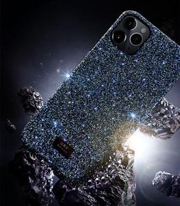 Image 4 - Bling bling glitter elmas parlayan lüks darbeye dayanıklı arka kasayı iPhone X XS XS MAX XR 12 11 Pro Max 7 8 artı funda kız