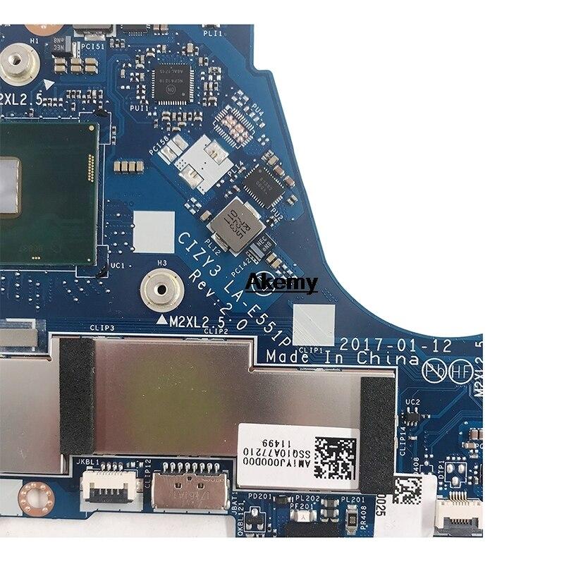 for Lenovo Yoga 720-13IKB Laptop Motherboard i5-7200U 8GB LA-E551P 5B20N67805
