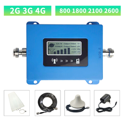 Gsm Repeater 2G 3G 4G 800 1800 2100 2600 Lte Cellulaire Signaal Versterker 4G Cellulaire Amplifie mobiele Dcs Signal Booster Repeater