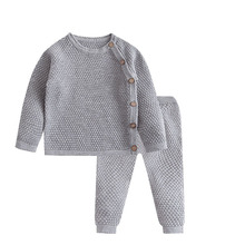 Clothes-Sets Outfits Pants Baby Pajamas Spring Long-Sleeve Newborn Baby-Girl Autumn Casual