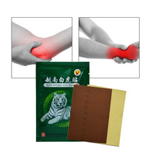 цена на 1Pc Powerful White Tiger Balm Natural Medical Plaster Joint Pain Relieving Patches Knee Rheumatoid Arthritis Massage Pain Patch