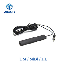 Buy Car Vehicle Auto FM Radio Patch Antenna 5dBi Broadcasting Omnidirectional Antena Feeder 3m Z132-BFMDL30 directly from merchant!