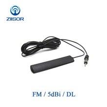 سيارة السيارات FM راديو التصحيح هوائي 5dBi البث احادي انتينا المغذية 3m Z132 BFMDL30