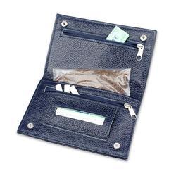 FIREDOG pochette en cuir narguilé tabac | Étui de poche en cuir avec support de papier roulant, fente Premium authentique pour noël cadeau de noël CL64