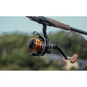 Image 5 - LINNHUE Рыболовная катушка FA1000 6000 без зазора металлическая катушка Макс тяга 8 кг Щука спиннинговая Катушка Высокая Скорость 5,2: 1 Катушка рыболовная снасть Pesca