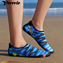 Oeak tenisówki typu uniseks buty do pływania sporty wodne plaża Surfing kapcie obuwie mężczyźni kobiety buty na plażę szybkoschnący moda 2019 tanie tanio vertvie Pasuje prawda na wymiar weź swój normalny rozmiar Spring2019 Slip-on Początkujący Cotton Fabric RUBBER Casual Fashion