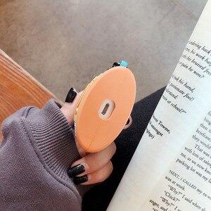 Image 5 - Voor Airpods Pro Coque Leuke 3D Pindakaas Fles Siliconen Oortelefoon Case Voor Apple Airpods 1 2 Stand Headset Cover met Haak