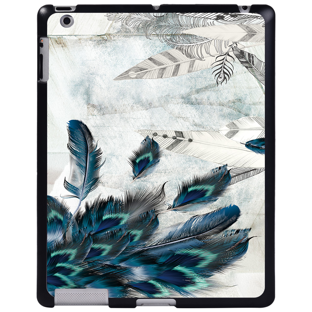 feather art Pink For Apple iPad 8 10 2 2020 8th 8 Generation A2428 A2429 tablet PC Plastic Printed