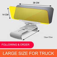 E-FOUR Driver Goggles HD UV Car Auto Truck Flip Down Shield Visor Day/Night Vision Auto Car Accessories Driver goggles Car shade