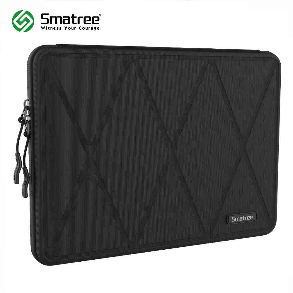 "Smatree saco de manga dura do portátil do escudo compatível com 13.3 ""macbook pro, caso magro do pc da tabuleta do náilon para 13"" asus/samsung/dell/acer"