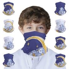 Starry Duck Kids Seamless Bandana Headband Face Mask Tube Scarf Balaclava Headwear