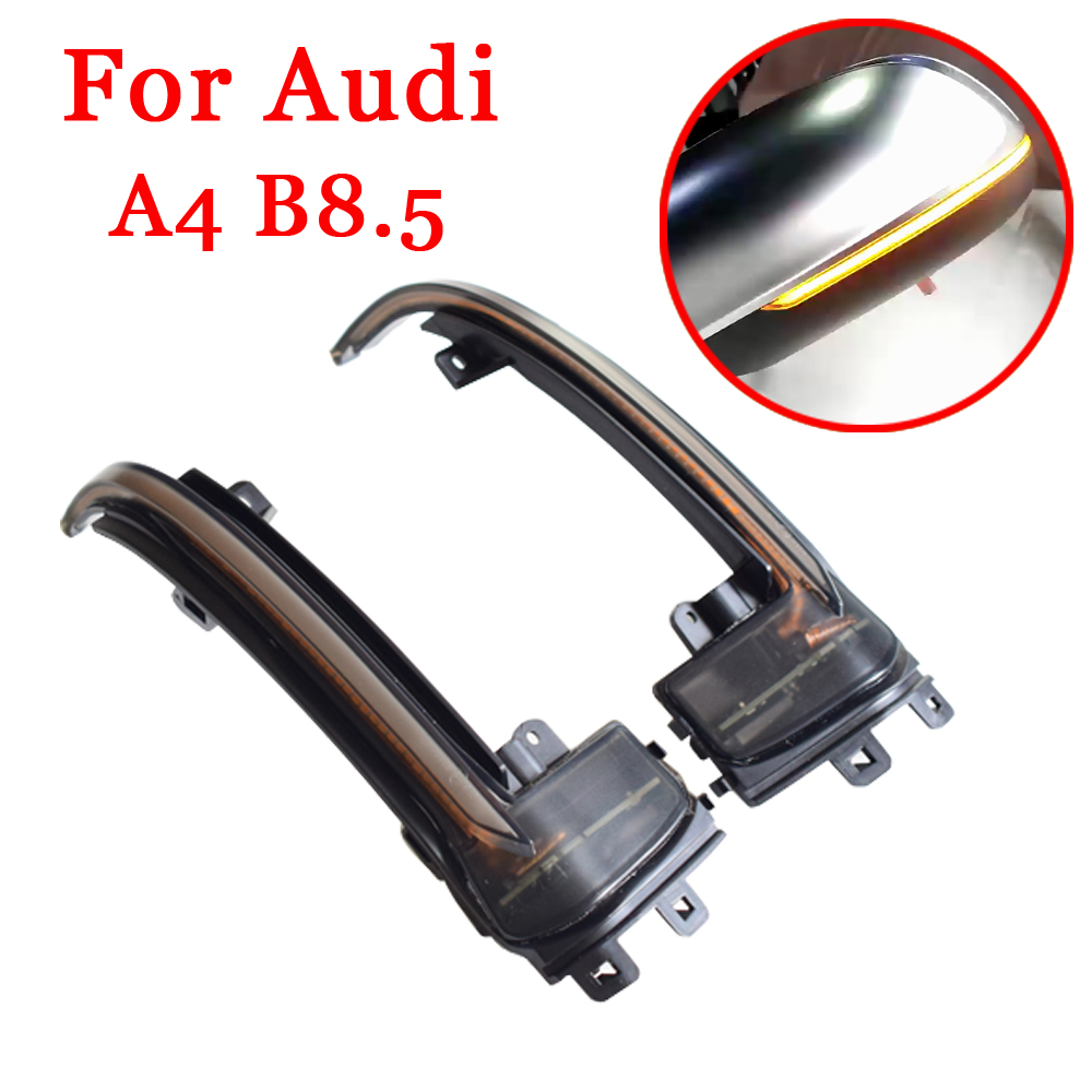 Mirror Indicator Turn Signal Light For <font><b>Audi</b></font> A4 A5 B8 B8.5 A3 8P Q3 A6 C6 4F S6 SQ3 <font><b>A8</b></font> <font><b>D3</b></font> 8K RS3 RS4 S5 Dynamic Indicator Blinker image