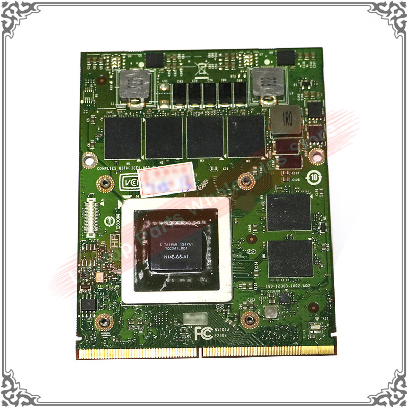 Original GTX <font><b>770M</b></font> GTX770M N14E-GS-A1 3G Graphic Card For DELL M15X M18X M6600 M17X Display Video Card Tested Well image
