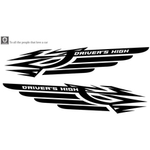 Long Stripe Stickers Totem Auto Sticker Car Body  Sticker Racing Side Door  Auto Vinyl Decal  1Pc hotmeini 2x long spear totem art of ancient weapons striped car sticker for motorhome suv truck kayak canoe vinyl decal 9 colors