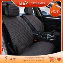 2 pcs כיסוי מחצלת להגן על רכב כרית מושב אוניברסלי/O שי רכב מושב מכסה Fit ביותר רכב פנים, משאית, Suv, או ואן