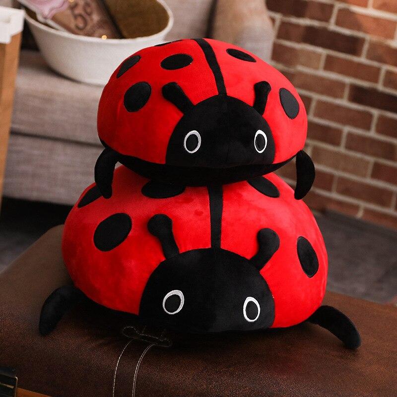 Cute baby animal ladybug bed hang campanula rattle bell ring