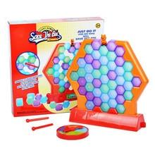 Las abejas hielo rompecabezas rompehielos a mesa de juegos para la familia, la fiesta de los niños regalos para niños cumpleaños
