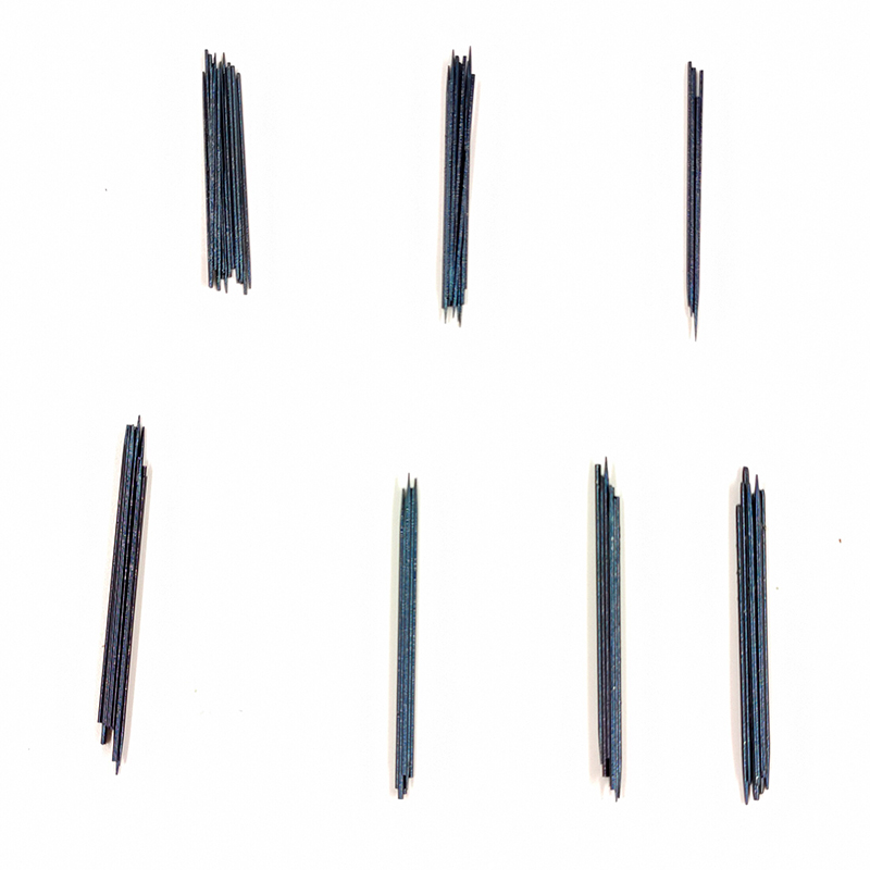 10pcs Toasted Blue Needle Spring For Woodwind Instruments Clarinet Oboe Bassoon Flute Saxophone Bass Clarinet Piccolo