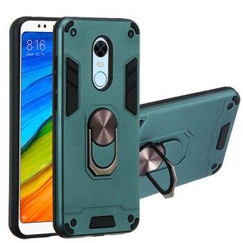Перейти на Алиэкспресс и купить Противоударный защитный Магнитный чехол-держатель для телефона Xiaomi Redmi Note 8 4 4X 5A Y1 5 6 6A 7 Y3 7A CC9E A3 K20 9T Pro Plus