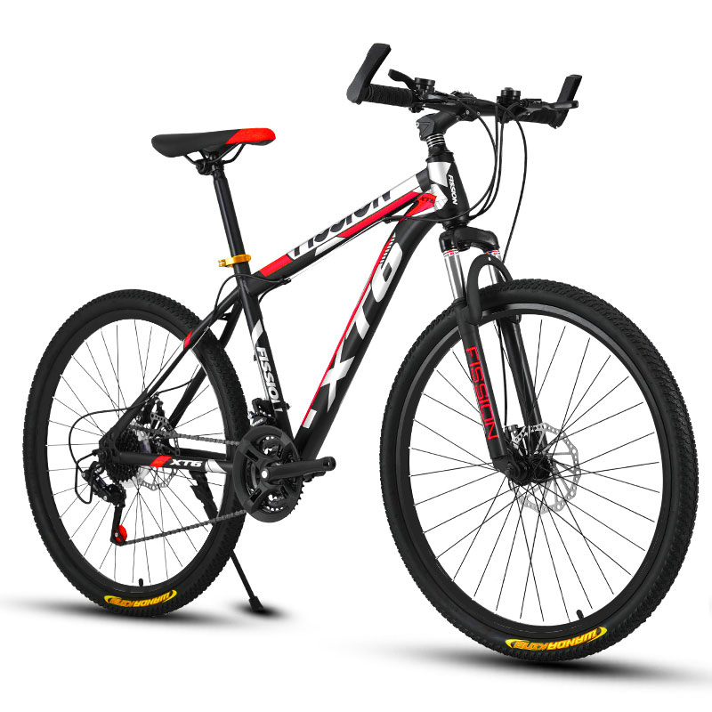 Mountain Bike 26 Inch 24 Speed Variable Speed Shock Absorption Double Disc Brakes Men And Women Bicycle Student Adult