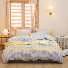 Pillowcase Bedding-Set Duvet-Cover 135x200/150x200 King 220x240 Queen-Size Luxury Kid